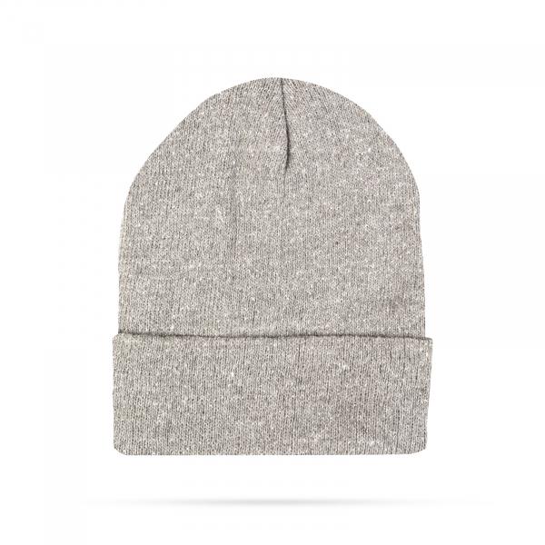 Fes calduros tricotat pentru iarna - Gri 0