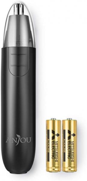 Trimmer pentru nas urechi Anjou AJ FS005 Cap detasabil si lavabil si lumina LED 0