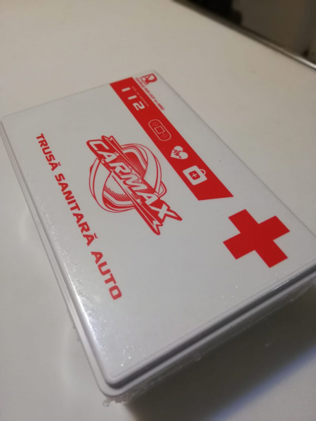 Trusa medicala auto de prim ajutor - Carmax valabila 2025 [0]