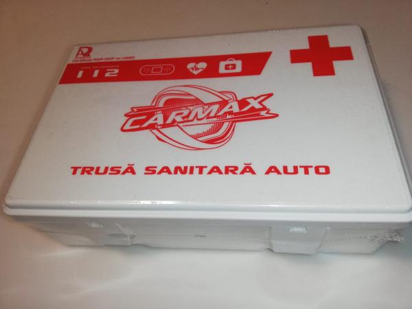 Trusa medicala auto de prim ajutor - Carmax valabila 2025 [3]