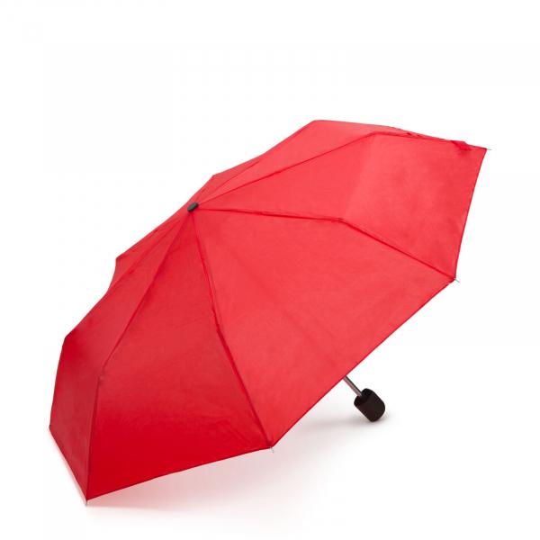 Umbrelă de ploaie - culoare rosie 0