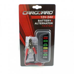 CARGUARD - Tester pentru baterie și alternator / 12V – 24V / cu indicatori LED3
