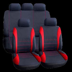 Huse universale pentru scaune auto - roșii - CARGUARD0