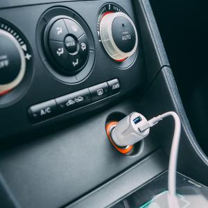Adaptor bricheta 2 x USB – Alb1