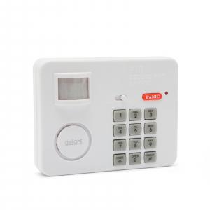 Alarma cu senzor de miscare cu protectie cu cod PIN0