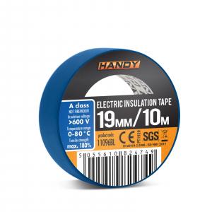 Banda izolatoare- 19 mm x 10 m - Albastru, 10 bucati set [2]