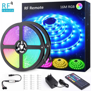 Banda LED RGB Novostela 16m, 480 Leduri, Telecomanda RF cu 44 butoane [0]