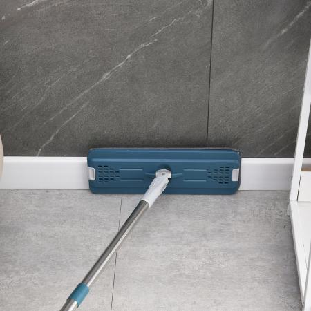 Set MOP, lavetă cu microfibre + găleată pentru curatenie [4]
