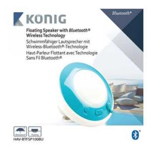 Boxa Bluetooth impermeabila, albastra [2]