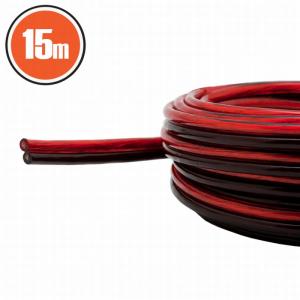 Cablu pt. difuzor 2x0,5mm² 15m0