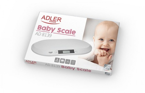 Cantar precizei pentru greutate bebelusi Adler AD 8139 [3]