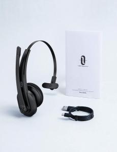 Casti call center cu bluetooth, TaoTronics TT-BH04, Microfon, AI Noise Cancelling, functionare 34 ore9
