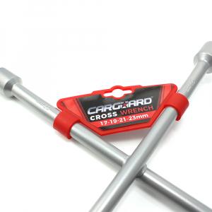 CARGUARD - Cheie de roată în cruce 17, 19, 21, 23 mm2