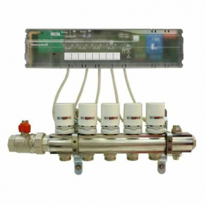 Controller wireless pentru incalzire in pardoseala HCC80 Honeywell1
