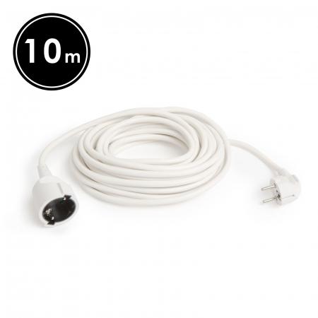 Cablu prelungitor, 3 x 1,0 mm², 10 m [0]