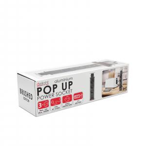 Distribuitor 3 prize camuflat în mobilier, USB- metalizat-satinat5