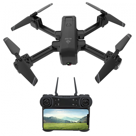 Drona Z11 Air Drone, Camera 4K, Pozitionare Optica,17 minute de zbor,  Altitudine Automata, Transmisie pe Telefon [5]