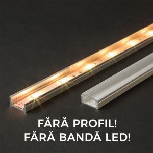 Ecran transparent pt. profil aluminiu LED - 2000 mm [0]
