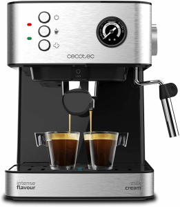 Espressor profesional Cecotec Power Espresso 20 Professionale, 850 W, 20 bar, 1.5 l, indicator luminos0
