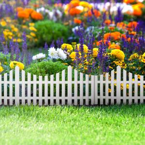 Gard sau bordura protectie flori 60x23 cm [0]
