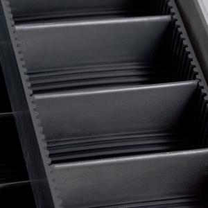 Geanta pentru scule din metal - 450 x 220 x 320 mm3