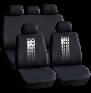 Huse universale pentru scaune auto - negre - CARGUARD0