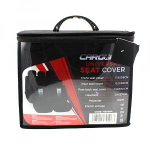 Huse universale pentru scaune auto - negre - CARGUARD1