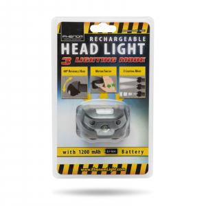 PHENOM - Lampă de cap cu acumulator și pornire cu senzor [3]