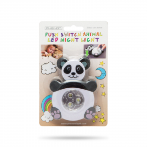 """Lampă de veghe cu buton, model """"Panda"""" [2]"""