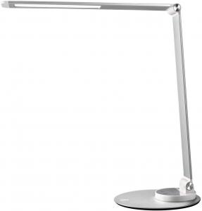 Lampa de birou cu LED TaoTronics TT DL66 cu incarcare USB si 6 niveluri de luminozitate Silver0