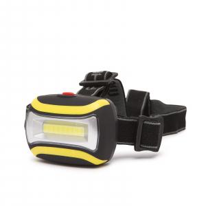 Lampa de cap, cu COB LED - utila pentru ciclism, speologie, reparatii auto, pescuit, camping [0]
