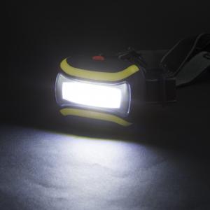 Lampa de cap, cu COB LED - utila pentru ciclism, speologie, reparatii auto, pescuit, camping [2]