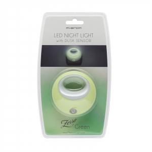 Lampa de veghe cu LED si senzor de lumina - verde [2]