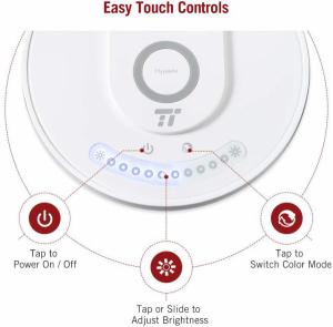 Lampa LED de birou TaoTronics TT DL043  cu incarcator wireless  control touch  USB  12W  410 lm4