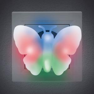 Lumină de veghe model fluture (multicolor)0