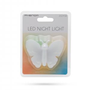 Lumină de veghe model fluture (multicolor)2