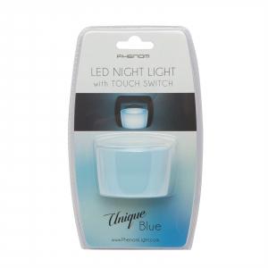 Lumina de veghe LED cu senzor tactil - albastru [2]