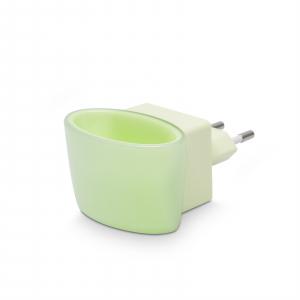 Lumina de veghe LED cu senzor tactil - verde [1]