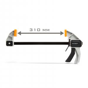 """Menghina de mâna cu stringere interior exterior 12"""" / 300 mm - 485 x 220 mm2"""