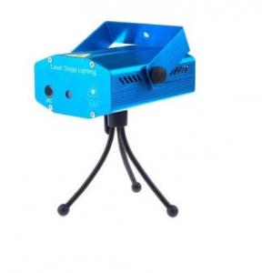 Mini proiector laser rosu / verde cu efecte reglabile0