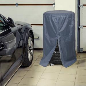 MNC - Prelată de protecţie pentru set de roţi auto - gri1
