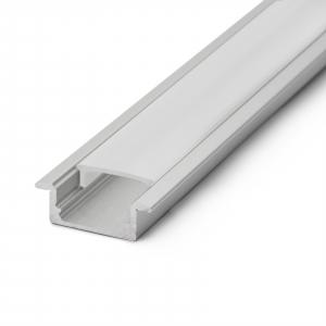 Profil din aluminiu pt. benzi LED 2000x23x8mm3