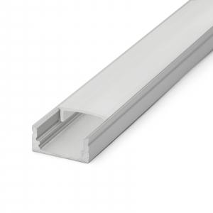 Profil U din aluminiu benzi LED 1000x17x8mm [3]