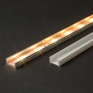 Profil U din aluminiu benzi LED 1000x17x8mm [1]
