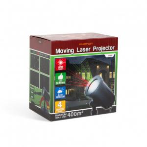 Proiector decorativ laser - cu tarus, verde/rosu - IP44 - 240V [4]