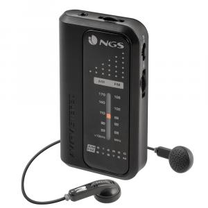 Radio portabil AM/FM negru NGS [0]