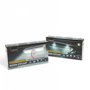Proiector solar cu LED, cu senzor de miscare si de lumina-ALB3