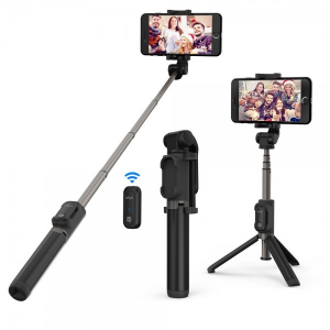 Selfie Stick Tripod VAVA 2 in 1 cu Telecomanda Bluetooth detasabila [0]