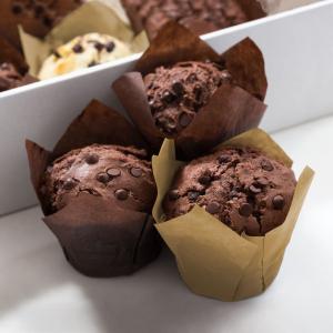 Set gofraje de hârtie pt. muffin - model lalea - 100 buc. / pachet0