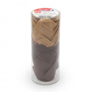 Set gofraje de hârtie pt. muffin - model lalea - 100 buc. / pachet2